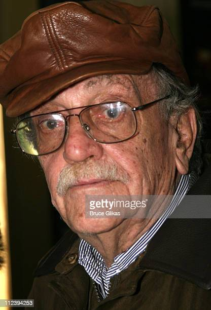 Kurt Vonnegut Jr during 'Awake and Sing' Opening Night After Party at Marriott Marquis Ballroom in New York City New York United States