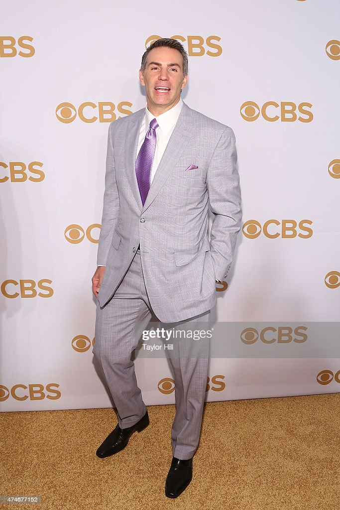 Kurt Warner attends the 2015 CBS Upfront at The Tent at Lincoln Center on May 13 2015 in New York City