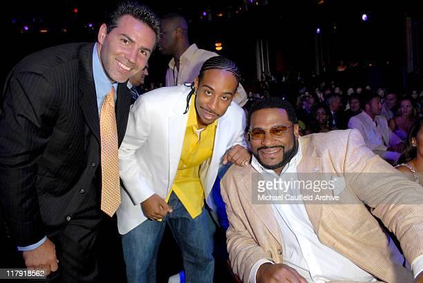 Kurt Warner Chris 'Ludacris' Bridges and Jerome Bettis of the Pittsburgh Steelers winner Best Team **Exclusive**