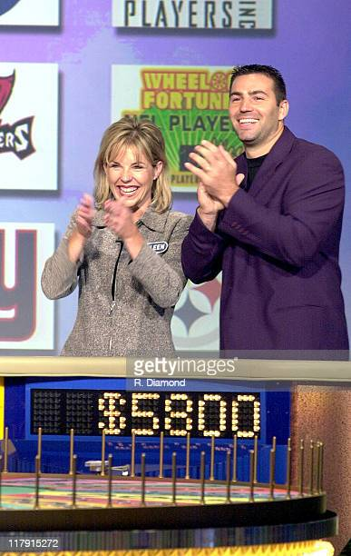 Kurt Warner on set at the taping of the Wheel of Fortune NFL Players Week