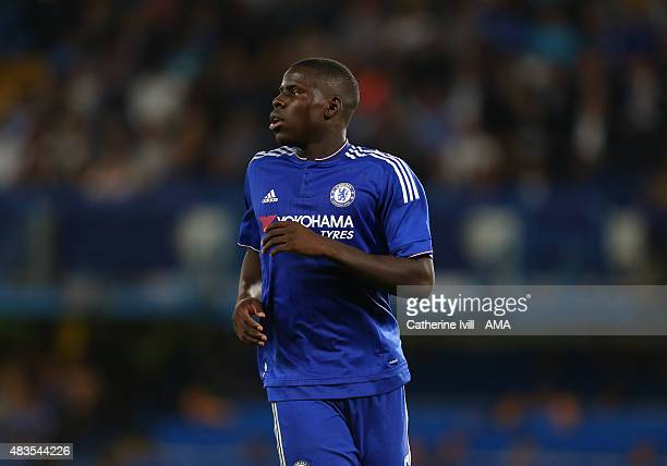 Kurt Zouma of Chelsea during the preseason friendly between Chelsea and Fiorentina at Stamford Bridge on August 5 2015 in London England