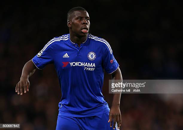 Kurt Zouma of Chelsea during the UEFA Champions League match between Chelsea and FC Porto at Stamford Bridge on December 9 2015 in London United...