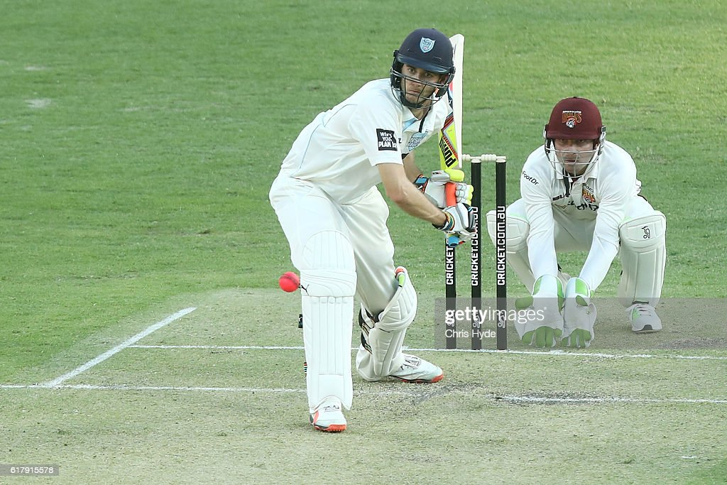 Sheffield Shield - QLD v NSW: Day 1 : News Photo