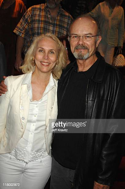 Kurtwood Smith and guest during 'Sicko' Los Angeles Premiere After Party at Academy of Motion Picture Arts Sciences in Beverly Hills California...