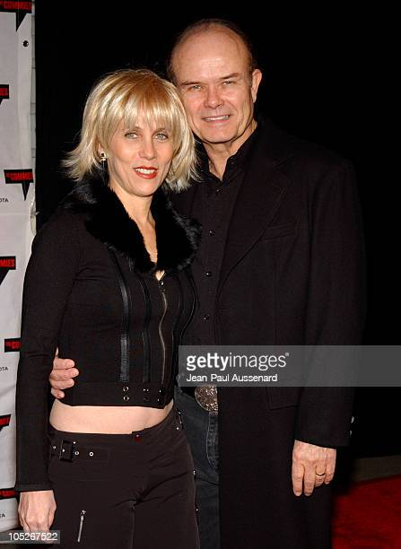 Kurtwood Smith and wife Jadan during Comedy Central's First Annual Commie Awards Arrivals at Sony Studios in Culver City California United States