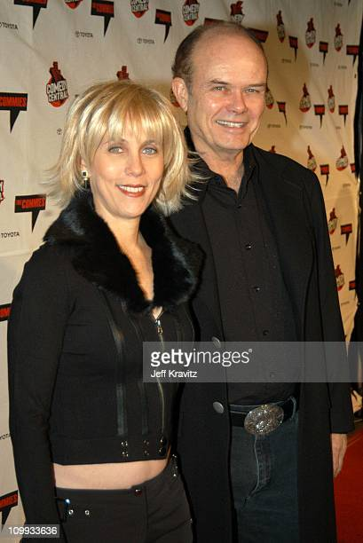 Kurtwood Smith and wife Joan during Comedy Central's First Annual Commies Awards Arrivals at Sony Studios in Culver City California United States