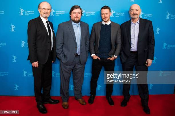 Kurtwood Smith Michael Chernus Terry O'Quinn and Michael Dorman attend the 'Patriot' premiere during the 67th Berlinale International Film Festival...