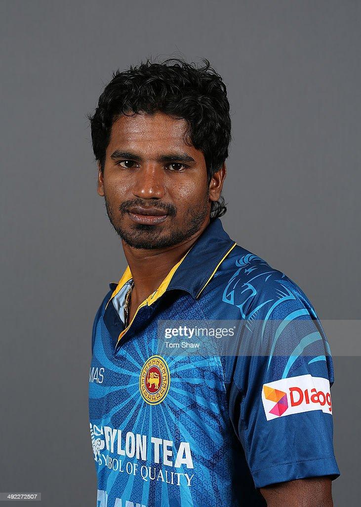 Sri Lanka Headshots - 2015 Cricket World Cup Preview Set