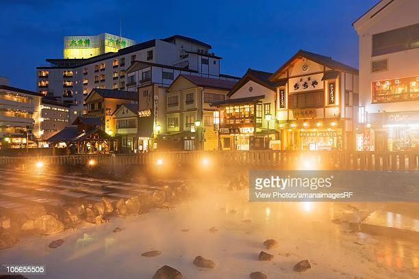 Kusatsu Onsen Hot Spring. Gunma Prefecture, Japan