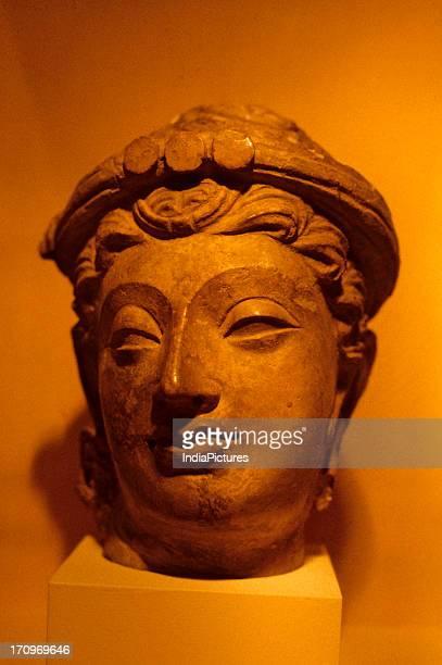 Kushan Bodhisattva National Museum Delhi India