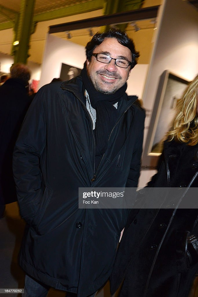 Kusmi Tea CEO Sylvain Orebi attends the 'Art Paris 2013' Preview at Le Grand Palais on March 27, 2013 in Paris, France.