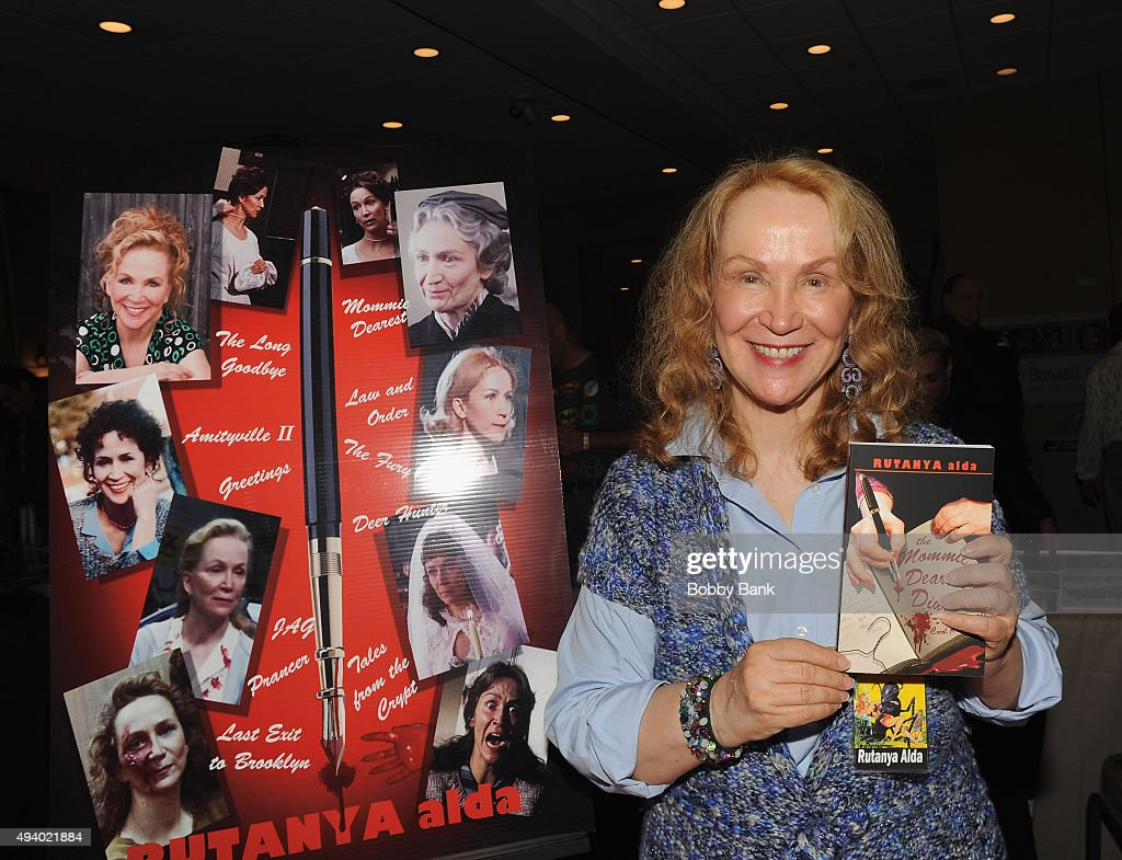 Kutanya Alda attends Day 1 of the Chiller Theatre Expo at Sheraton Parsippany Hotel on October 23, 2015 in Parsippany, New Jersey.
