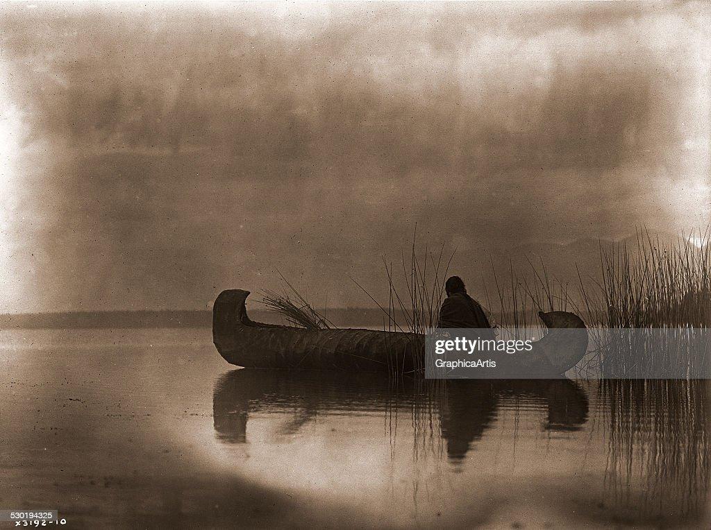 Kutenai Duck Hunter by Edward S Curtis 1910