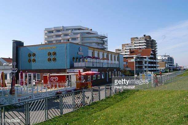 Kuverwaltung an der Strandpromenade Cuxhaven Niedersachsen Deutschland Europa Reise