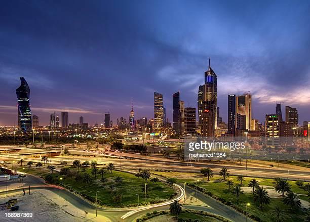 kuwait city after raining