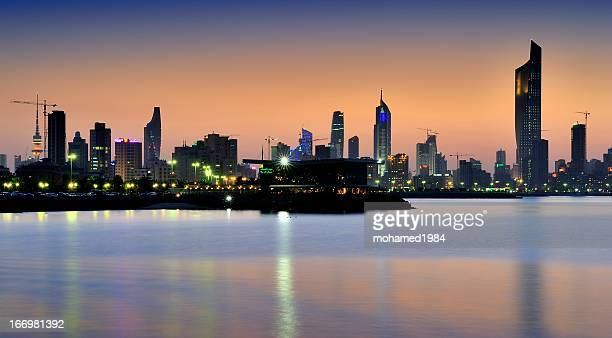 kuwait city towers view
