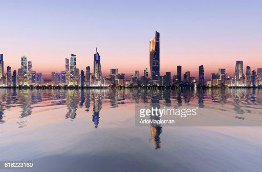 kuwait cityscape : Stock Photo