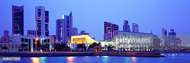 Kuwait National Assembly and skyline