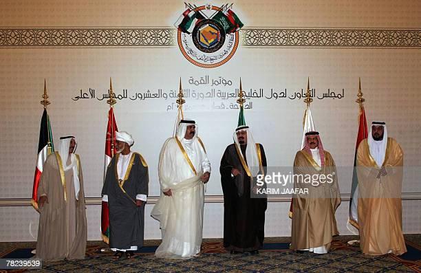 Kuwaiti Emir Sheikh Sabah alAhmed alSabah Omani Sultan Qaboos bin Said Qatari Emir Sheikh Hamad bin Khalifa alThani Saudi King Abdullah bin Abdul...