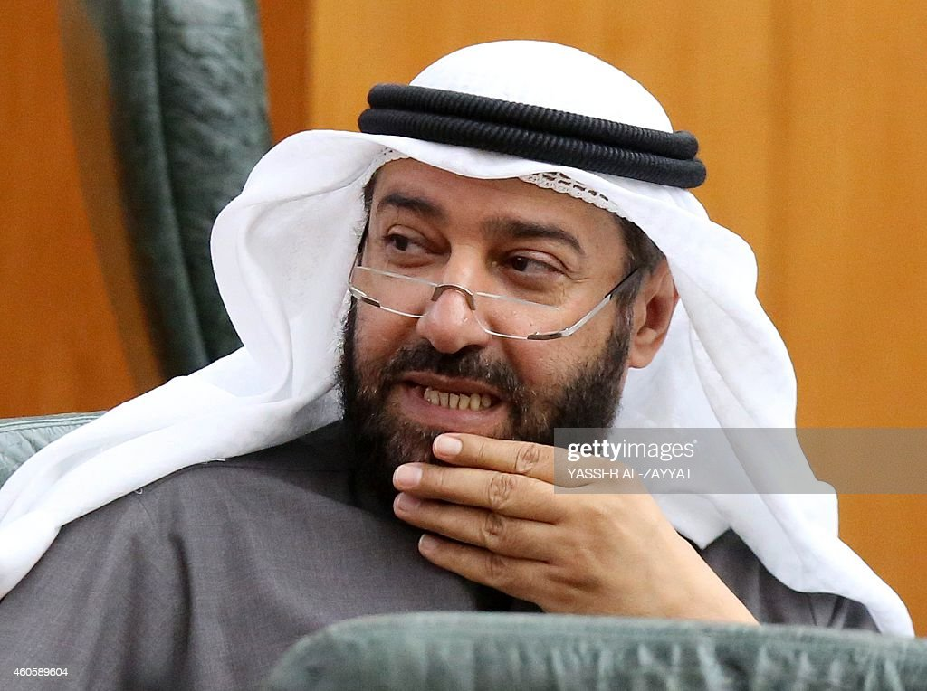 Kuwaiti oil minister Ali alOmair looks on as he attends a parliament session at Kuwait's National Assembly on December 17 2014 in Kuwait City OPEC...