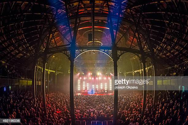 Kwabs performs at the Roundhouse on October 17 2015 in London United Kingdom