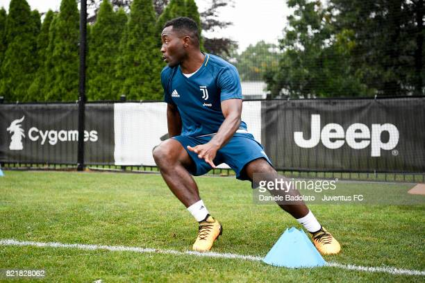 Kwadwo Asamoah during the afternoon training session on July 24 2017 in Boston City