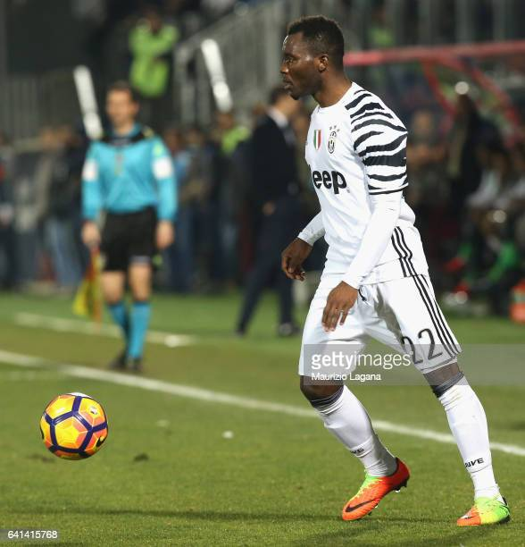Kwadwo Asamoah of Juventus during the Serie A match between FC Crotone and Juventus FC at Stadio Comunale Ezio Scida on February 8 2017 in Crotone...
