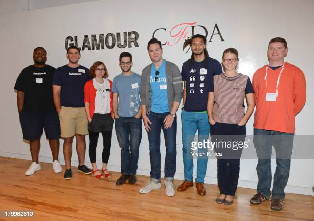 Kwame Thomison and Ian Gillis of Facebook Lauri Apple of Gilt Groupe Abe Stanway of Hacker League Ari Fuchs of Aviary Kyle Wanamaker of tumblr Cindy...