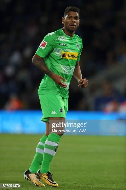 Kwame Yeboah of Borussia Moenchengladbach during the preseason friendly match between Leicester City and Borussia Moenchengladbach at The King Power...