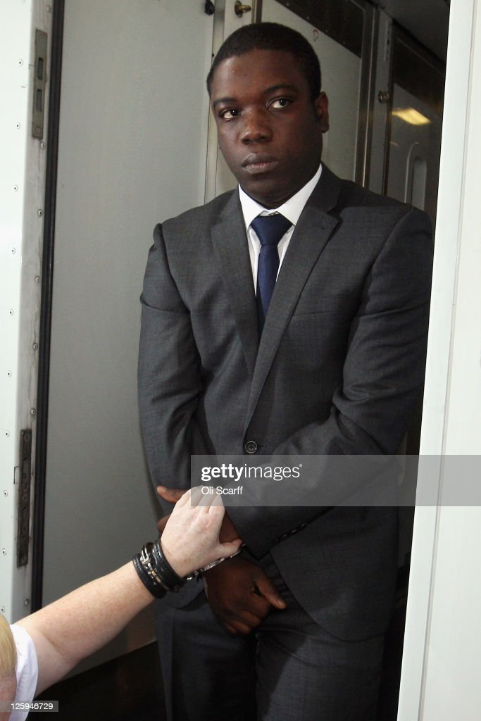 <a gi-track='captionPersonalityLinkClicked' href=/galleries/search?phrase=Kweku+Adoboli&family=editorial&specificpeople=8256036 ng-click='$event.stopPropagation()'>Kweku Adoboli</a>, a trader for the Swiss investment bank UBS arrives at the City of London Magistrates Court on September 22, 2011 in London, England. Mr Adoboli is alleged to have made unauthorised trades that resulted in losses to UBS of 1.5 billion GBP.