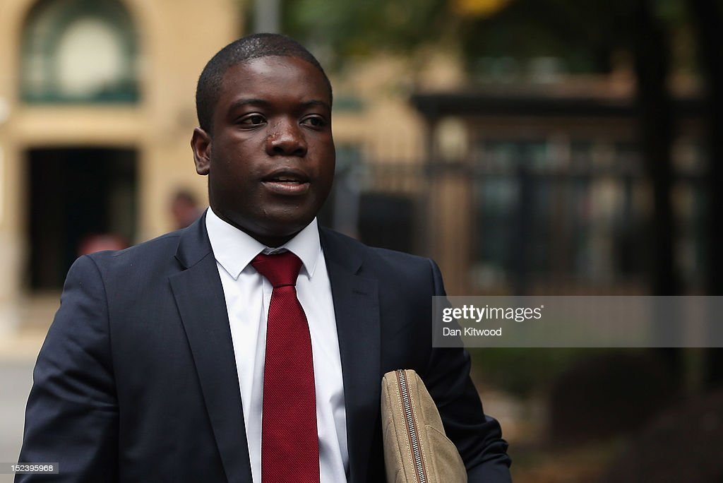<a gi-track='captionPersonalityLinkClicked' href=/galleries/search?phrase=Kweku+Adoboli&family=editorial&specificpeople=8256036 ng-click='$event.stopPropagation()'>Kweku Adoboli</a> arrives at Southwark Crown Court on September 20, 2012 in London, England. Mr Adoboli denies two charges of fraud and two of false accounting dating back to 2008. It was during this time as a trader at Swiss Bank UBS that he lost the bank £1.4 billion in illicit trades according to the prosecution.