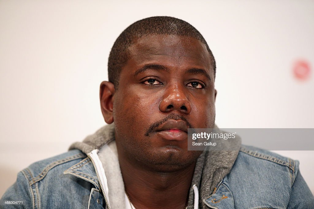 Kweku Mandela attends the Cinema for Peace 2014 press conference at the Regent Hotel on February 10, 2014 in Berlin, Germany.