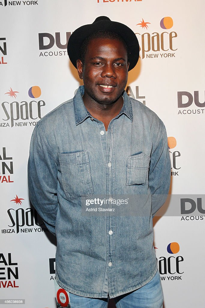 Kweku Mandela attends the Global Citizen Festival official after party at Space Ibiza NY on September 27, 2014 in New York City.
