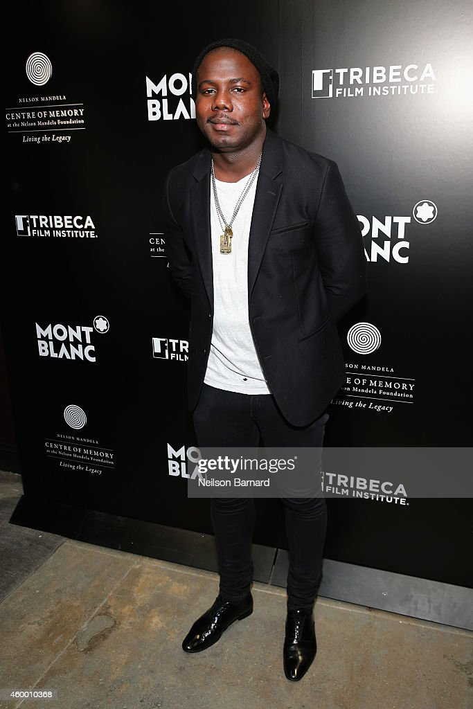 Kweku Mandela attends the NYC premiere of 'Power of Words' powered by Montblanc and Tribeca Film Institute on December 5, 2014 in New York City.