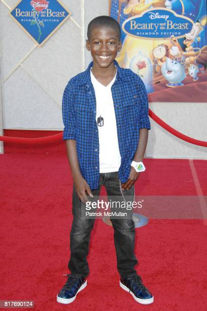Kwesi Boakye attends WALT DISNEY STUDIOS HOME ENTERTAINMENT HOSTS A SINGALONG PREMIERE OF BEAUTY AND THE BEAST at El Capitan Theatre on October 2...