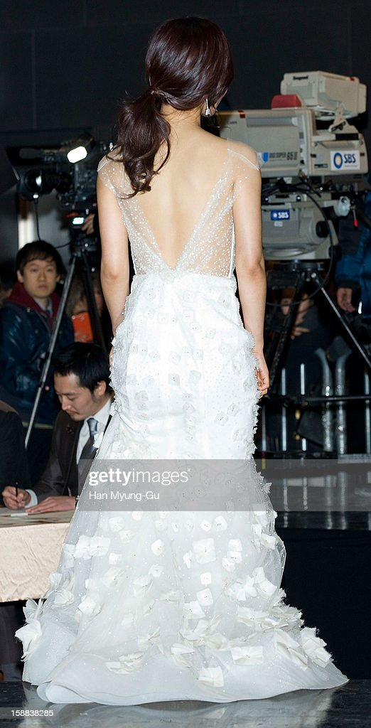Kwon Yu-Ri (Yuri) of South Korean girl group Girls' Generation attends during the 2012 SBS Drama Awards at SBS Prism Tower on December 31, 2012 in Seoul, South Korea.