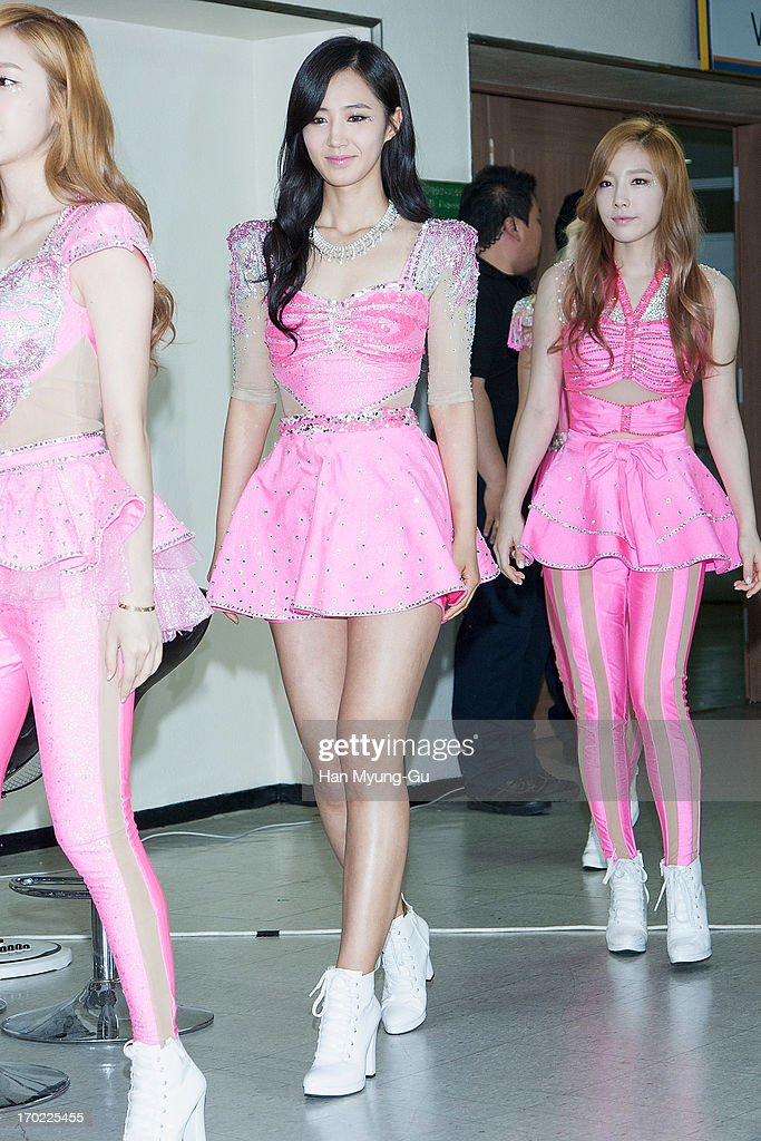 Kwon YuRi of South Korean girl group Girls' Generation attends during the Girls' Generation World Tour 'Girls Peace' press conference at Olympic...