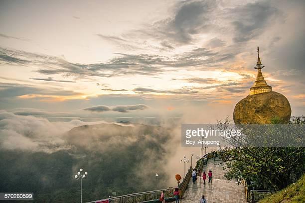 Kyaikhtiyo Pagoda (Golden rock) Myanmar.
