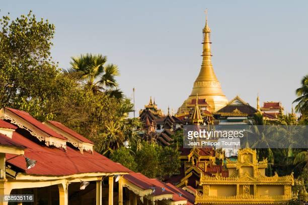 Kyaikthanlan Phayar, Kyaik Than Lan Pagoda, the old Moulmein Pagoda, Mawlamyine, Mon State, Southern Myanmar (Burma)