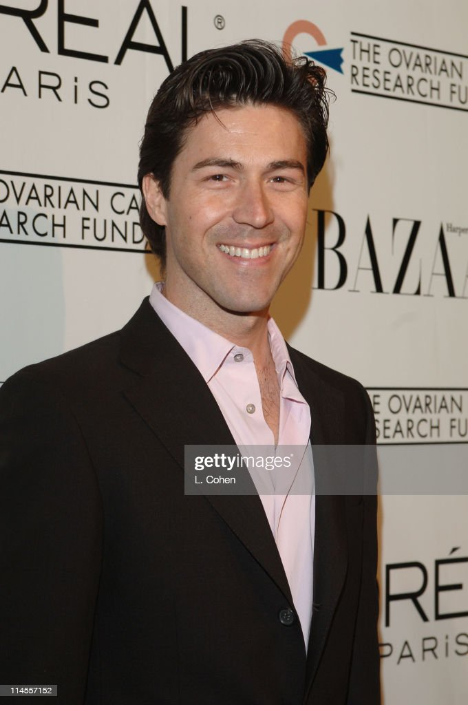 Kyan Douglas during L'Oreal Paris Presents 'As Seen in...Harper's Bazaar' to Benefit the Ovarian Cancer Research Fund Hosted by Eva Longoria and Milla Jovovich - Red Carpet at Lindbrook Gallery in Westwood, California, United States.
