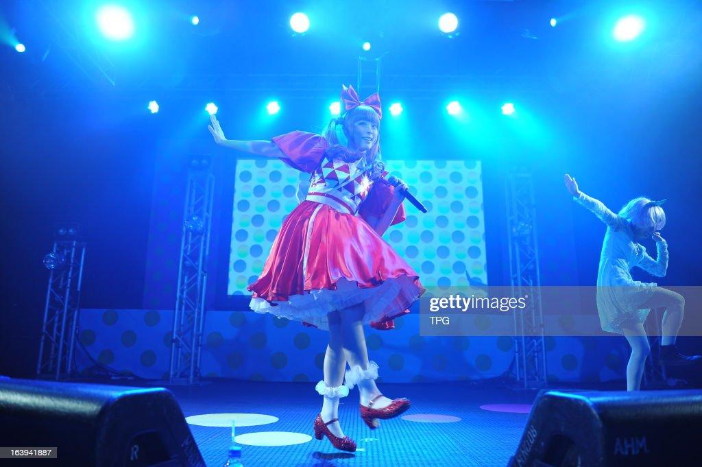 Kyary Pamyu Pamyu held 100% KPP WORLD TOUR 2013 concert on Sunday March 17, 2013 in Hong Kong, China.