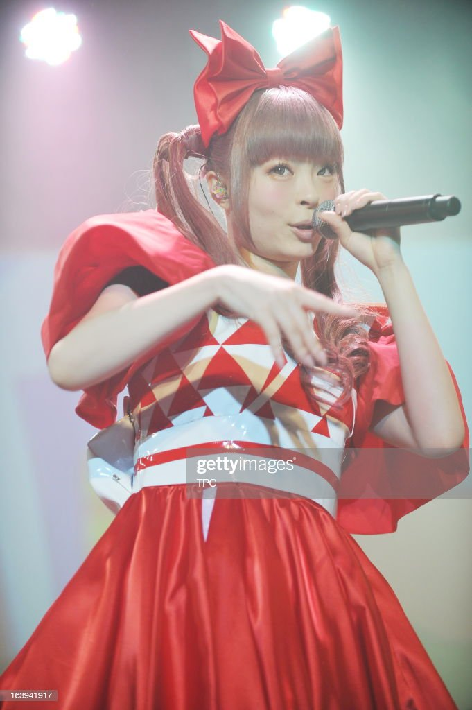 Kyary Pamyu Pamyu held 100% KPP WORLD TOUR 2013 concert on Sunday March 17, 2013 in Hong Kong, China.