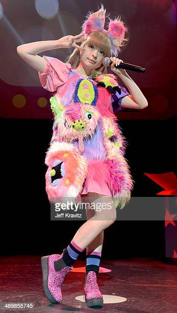 Kyary Pamyu Pamyu in concert at Club Nokia on February 16 2014 in Los Angeles California