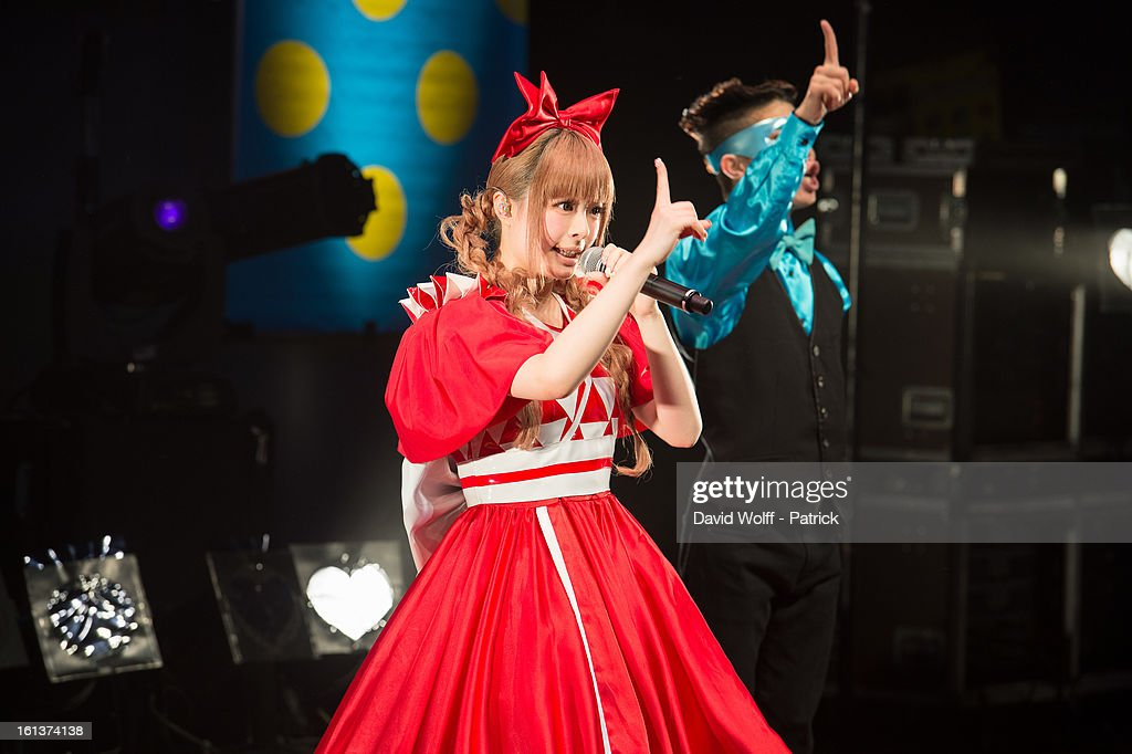 Kyary Pamyu Pamyu performs at La Cigale on February 10, 2013 in Paris, France.