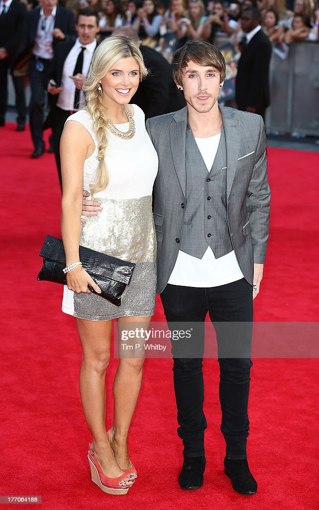 Kye Sones (R) and guest attends the World Premiere of 'One Direction: This Is Us' at Empire Leicester Square on August 20, 2013 in London, England.