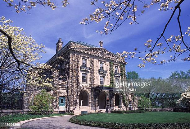 Kykuit the house of the Rockefeller family just is opened to the public In Pocantico hills United States In May 1994