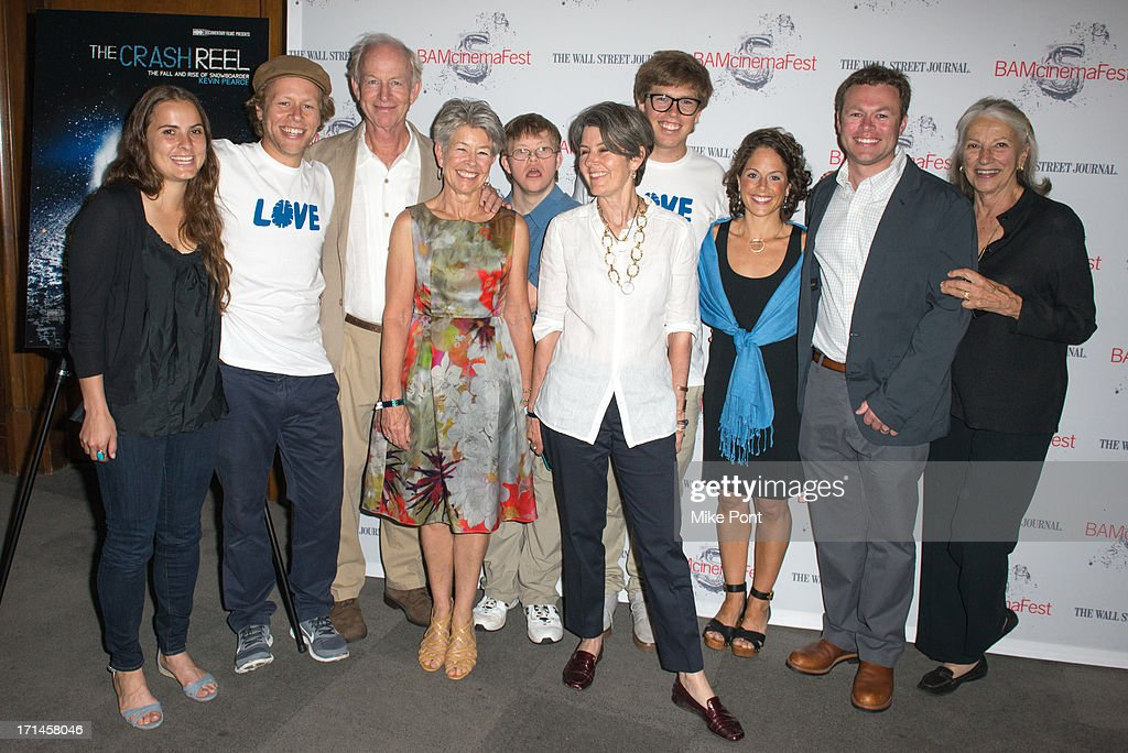 Kyla Donnelly Adam Pearce Simon Pearce Pia Pearce David Pearce Peggy Vance Kevin Pearce Christy Pearce Andrew Pearce and Katie Kane attend...
