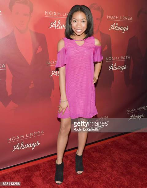 Kyla Drew attends Noah Urrea's 16th Birthday with EP Release Party at Avalon Hollywood on March 26 2017 in Los Angeles California