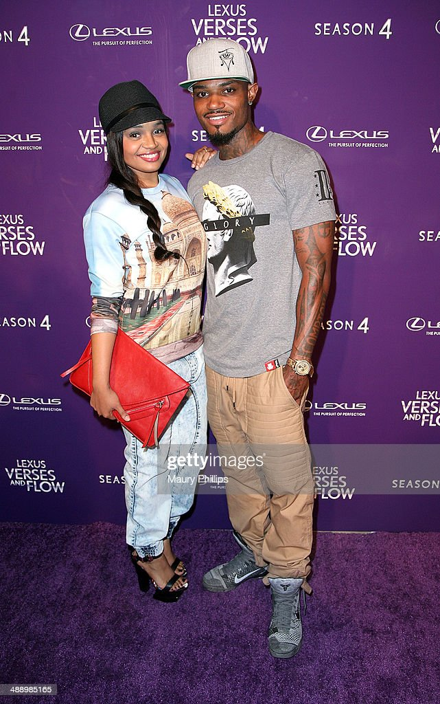 <a gi-track='captionPersonalityLinkClicked' href=/galleries/search?phrase=Kyla+Pratt&family=editorial&specificpeople=224862 ng-click='$event.stopPropagation()'>Kyla Pratt</a> and Danny Kirkpatrick arrive at 'Verses And Flow' Season 4 taping presented by TV One at Siren Studios on May 8, 2014 in Hollywood, California.