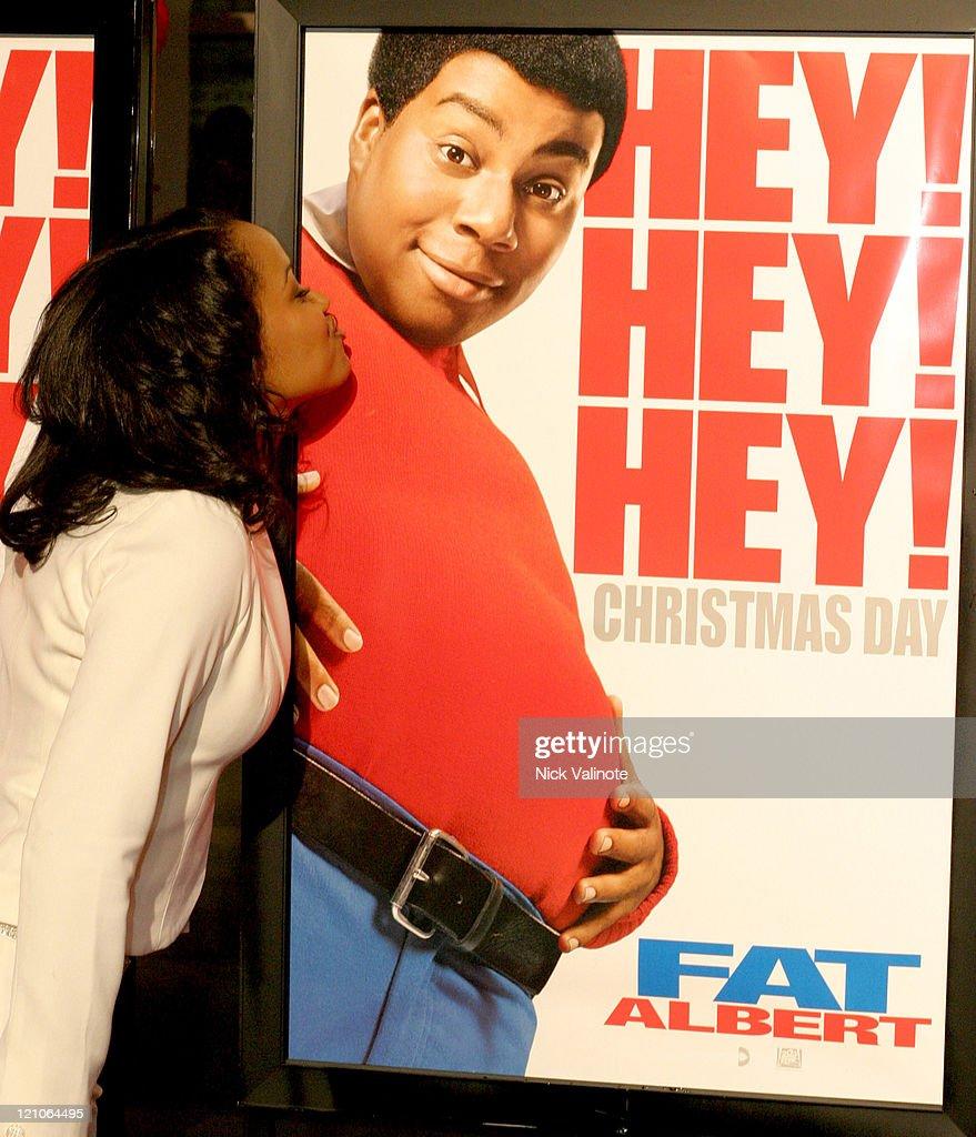Kyla Pratt during 'Fat Albert' World Premiere Arrivals at Temple University Liacouras Center in Philadelphia Pennsylvania United States